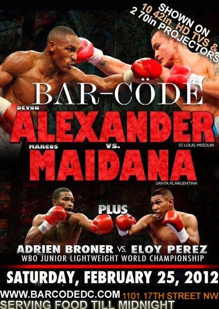 Marcos Maidana vs Devon Alexander live1